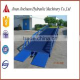 mobile hydraulic yard ramps, loading ladder platform, truck portable loading ramps