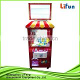 Toy claw machine mini Sugar House paradise coin operated vending machine