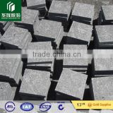 G684 china pearl black granite flamed paving stone, cobblestone