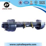 agricultural trailer axle with break system for sale