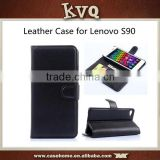 Wallet Stand PU Leather Cover Case For Lenovo S90 Mobile Case