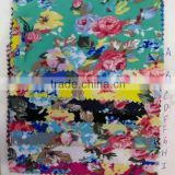 40*40 cotton twill or poplin COMBED quanlity reactive printed cotton fabric