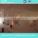 Backdrop pipe and drape for wedding, outdoor fashion drapery decoration