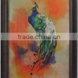 2016 New Design Bird Oil Prints MDF Paper Prints Modern Decorative Canvas Wall Art Living Room