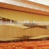 aluminium movable partition wall and operable partition wall acoustic movable partition for banquet hall