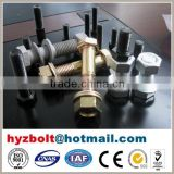 Grade 10.9/12.9 high strength hex bolt and nut