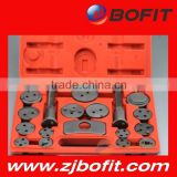 Zhejiang factory 21pc car disc brake caliper piston wind back rewind tool set brake pad removal trustable supplier