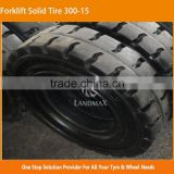 7.00-15 28*12.5-15 32*12.1-15 355/65-15 Three Constructin Forklift Solid Tire 300-15                                                                         Quality Choice