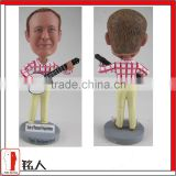custom your bobble head by 100% handmade guitar guy