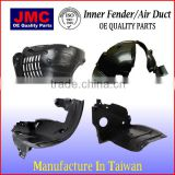 European Auto Car Parts Replacement parts Inner Fender Liner Air Duct for W639 6396842177