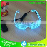 led ray band sunglasses promotional el wire sunglasses