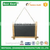 Advertising Chalkboard with Pine Wood Frame Jute String Hanging                                                                         Quality Choice