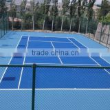 SI PU sports flooring for badminton court, tennis court, basketball court