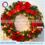 Factory Sale ball decorative chirstmas wreath
