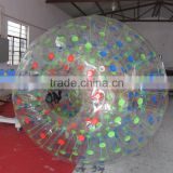 2016 popular and Cheap rolling inflatable sport game zorb water ball for sale