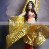 2016 Hot Popular Women Egyptian Belly Dance Isis Wings Golden Belly Dance Costume Wing for Sale