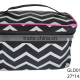 cosmetic bag makeup bag cosmetic packing box with handle with zipper