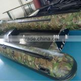 (CE Certificated ) Inflatable RIB Fiberglass Speed Boat