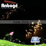 RGB, red, yellow, blue, green, pink, white Solar LED string Garden lights