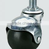Screw in furniture rubber ball caster,chair caster wheel