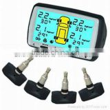 2013 hot sale auto car OBD cheapest TPMS, wireless Tire Pressure Monitor System tpms