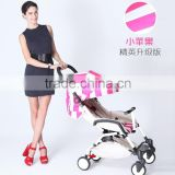 2016 Wholesale baby stroller folding portable four-wheel damping baby carriage