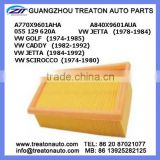 AIR FILTER A770X9601AHA A840X9601AUA 055 129 620A FOR VW JETTA 78-84 GOLF 74-85 CADDY 82-92 JETTA 84-92 SCIROCCO 74-80