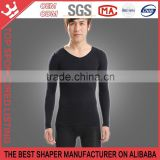 Body Shape Wear Top Solid Basic Winter Thermal Wear Men