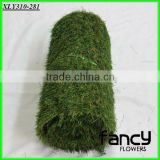 35mm height, green colors with curlve yarn below, monofilament gras yarn, mini football field artificial grass