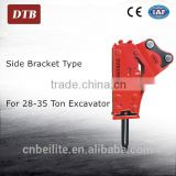 China Hydraulic drill attachment for excavator, hydraulic breaker