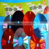vinyl black cdr wholesale with 50pcs shrink wrap pack working stably