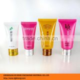 30ml 50ml sunscreen packaging tube with aluminum screw cap