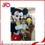 Custom made Adult Plush mascot costumes, plush costume Mickey, Mickey mouse mascot costume