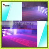 wedding stage backdrop decoration 5*5*10 watt RGBW 4 in 1 led blinder professional matrix equipment