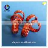 15mm pigeon ring bands 2019 with custom information country name on rings