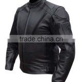 ARMOUR LEATHER MOTOR BIKE RACING JACKET