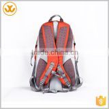 6820 Unisex Retro Casual School Custom Canvas Leather Laptop Backpack with Laptop Sleeve