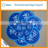 fashion outdoor game toy foldable nylon frisbee fan customized logo foldable frisbee fan