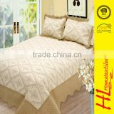 NBHS competitive price provide embroidery used bedding for sale,hotel bedding patchwork,cotton quilted bedspreads