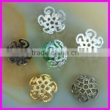 4x10mm Chinese Knot rhinestone bead caps