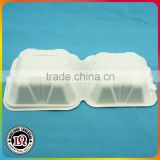 Disposable Bagasse Pulp Microwave Safe Food Container