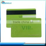 Top quality credit card size membership card plastic magnetic card hotel door lock with serial numbering emboss