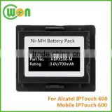 Brand New 3.6V 700mAh NI-MH Battery for Alcatel IPTouch 600, Battery For Alcatel Mobile IPTouch 600 38BN78108AAXX00
