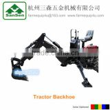 mini tractor Towable Backhoe loader,backhoe bucket, 3Point farm digging machine