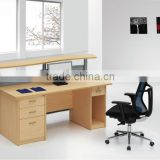 SUNRISE office#home wooden computer desk partitions with drawers