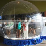 Attractive cheap christmas air blown inflatable snow globe