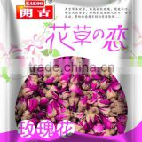High quality Chinese wholesale rose bud, dried rose flower tea, rose tea, flower tea, dried rose flower