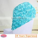 Cheap Colorful Taping Embroidery Rose Chair Sashes For Wedding Supply