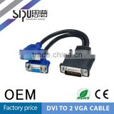 SIPU Best Dvi to Bnc Cable Dvi Splitter