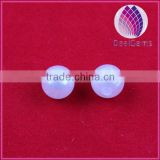 Wholesale cheap 10mm white round imitation acrylic pearl
